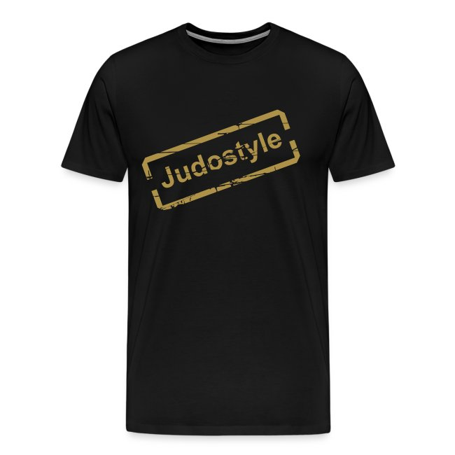 Tee shirt tampon or judostyle homme