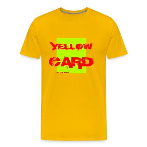BELGIAN-YELLOW-CARD - T-shirt Premium Homme