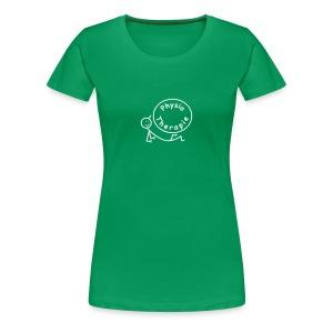 Physiotherapie Arbeitsshirt - Frauen Premium T-Shirt