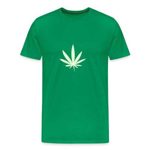 Självlysande löv - Premium-T-shirt herr