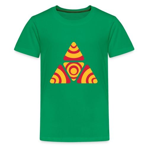 Zebra Triangle - Teenager Premium T-Shirt
