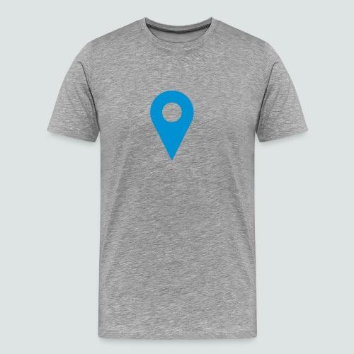 Pin T-Shirt Herren - Männer Premium T-Shirt