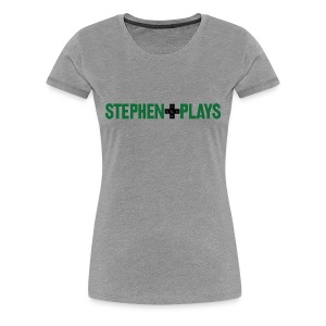 StephenPlays Logo - Green (Women's) - Women's Premium T-Shirt