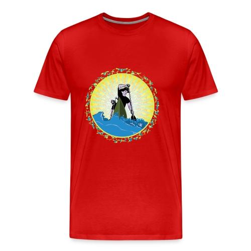 Paddel Ahoi - Männer Premium T-Shirt