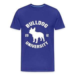 Bulldog University Shirt - Men's Premium T-Shirt