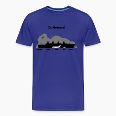 yomommawithtext T-Shirts