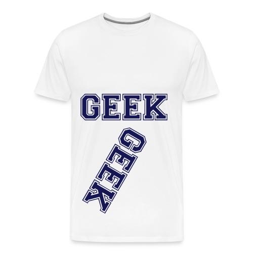 T-Shirt Geek Bl - T-shirt Premium Homme