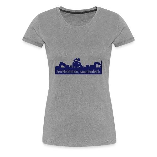 Meditation - Frauen Premium T-Shirt