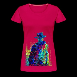 The Glitch With No Name - Women's Premium T-Shirt