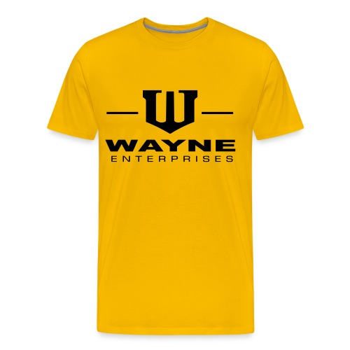 Wayne Enterprises [T-Shirt] [yellow-black] - Männer Premium T-Shirt