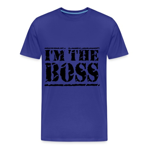 I'm the boss Mannen T-Shirt - Mannen Premium T-shirt