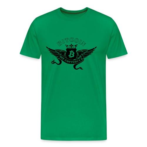 T-Shirt Bitcoin My currency - Männer Premium T-Shirt
