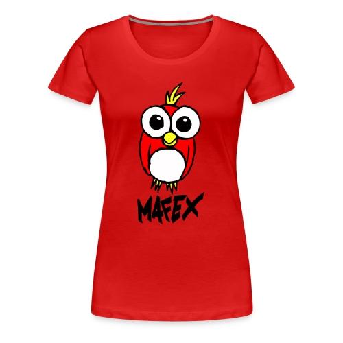 Vogel rot - Frauen Premium T-Shirt