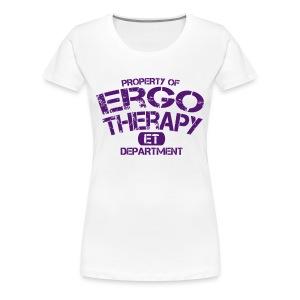 Ergotherapie Sport Shirt - Frauen Premium T-Shirt