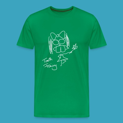 Tooth Fairy White - Männer Premium T-Shirt