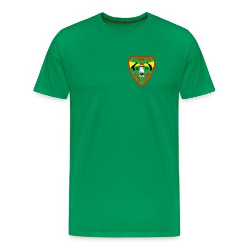 Ekstra store klubbskjorter - Premium T-skjorte for menn