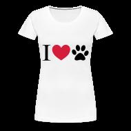 Magliette ~ Maglietta Premium da donna ~ I Love Pet