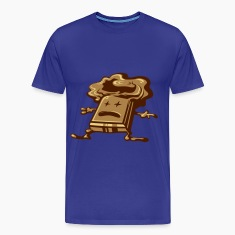 Royal blue Dead Chocolate T-Shirts