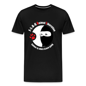 F-L-A-G Animal Liberation - Männer Premium T-Shirt