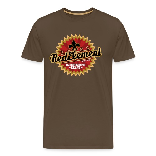 RED ELEMENT No. IV - Boys - Männer Premium T-Shirt