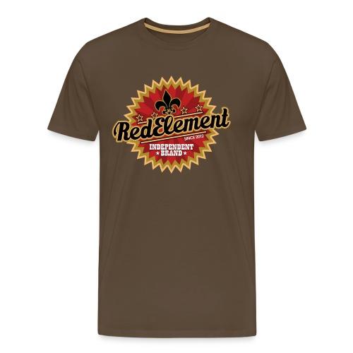 RED ELEMENT No. IV - Boys - Männer Premium T-Shirt