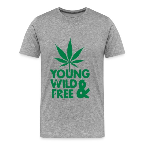 Young, Wild & Free v.3 - T-shirt Premium Homme