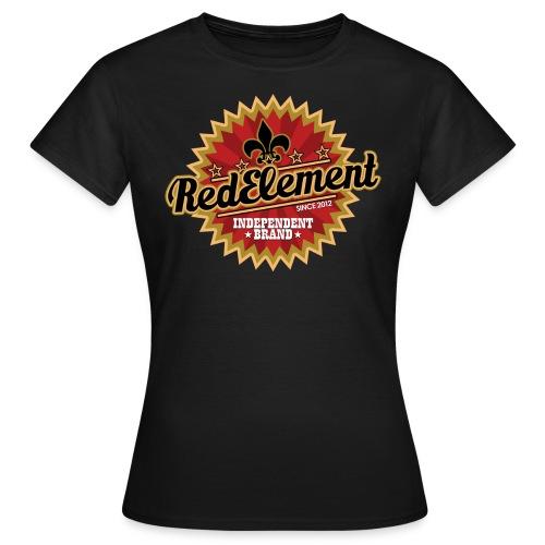 RED ELEMENT No. IV - Girls - Frauen T-Shirt