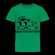 T-Shirts ~ Kinder Premium T-Shirt ~ Kinder-T-Shirt - Glücksschwein (schwarzer Aufdruck)