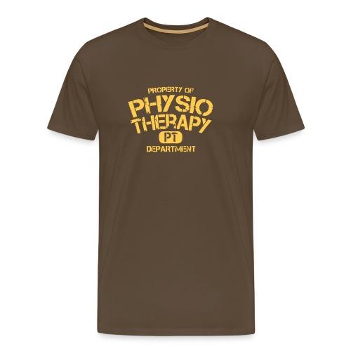 PT Department Physiotherapie - Männer Premium T-Shirt