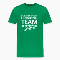st. patrick´s day driking team member T-Shirts