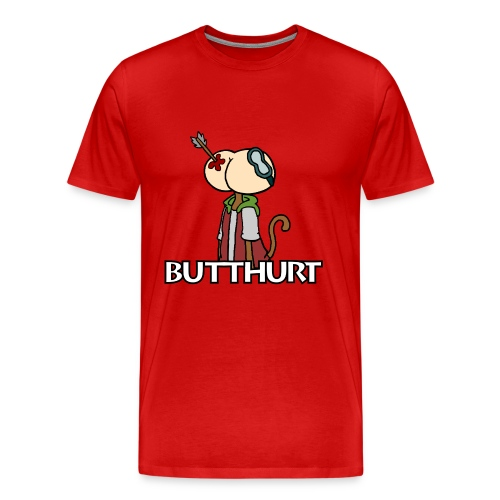 Butthurt Buttshirt - Men's Premium T-Shirt