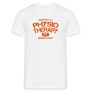 PT Department Physiotherapie - Männer T-Shirt