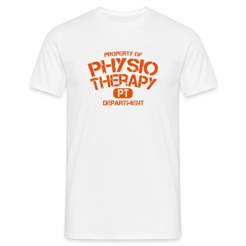 PT Department Physiotherapie - Männer T-Shirt