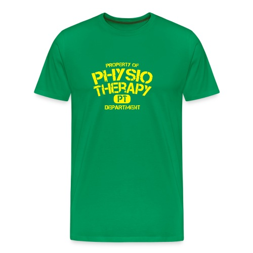 PT Department Physiotherapie - Männer Premium T-Shirt
