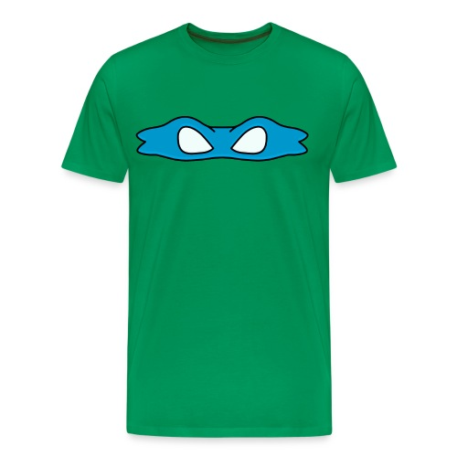 Ninja Bandana Blue - Men's Premium T-Shirt