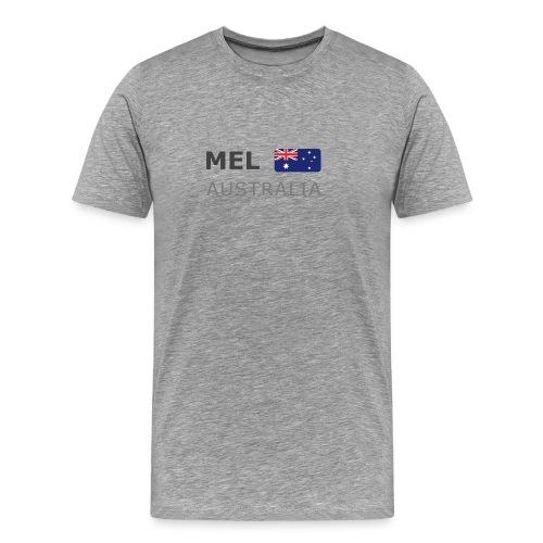Classic T-Shirt MEL AUSTRALIA dark-lettered - Men's Premium T-Shirt