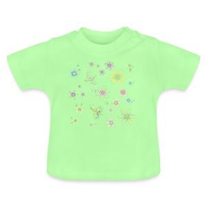 Fiori e farfalle - Maglietta per neonato