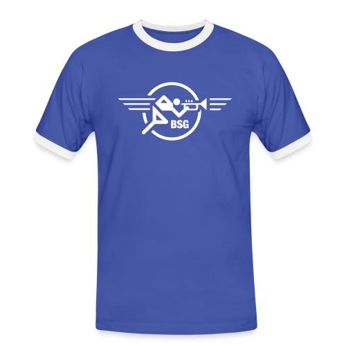 Trompeten-Runner Ringer-Shirt - Männer Kontrast-T-Shirt