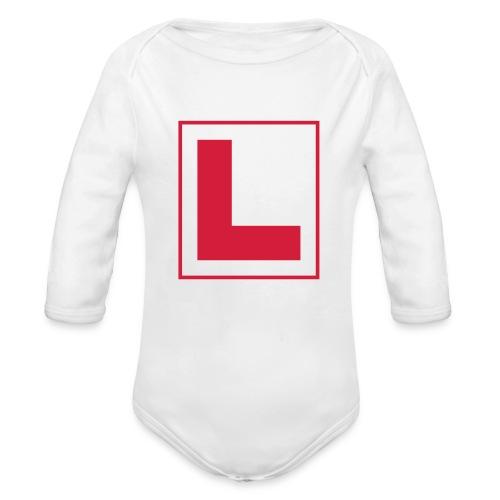 Opplæring - Økologisk langermet baby-body