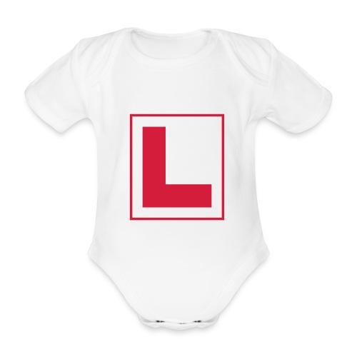Opplæring - Økologisk kortermet baby-body