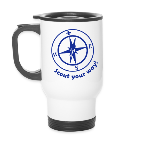 Scout your way - name tag - Travel Mug
