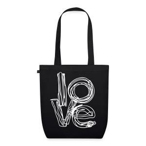 Love   Bag - Borsa ecologica in tessuto