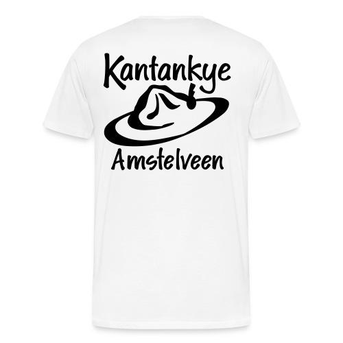 Basic Zwart - Mannen Premium T-shirt