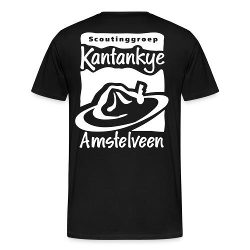 Complete Wit - Mannen Premium T-shirt