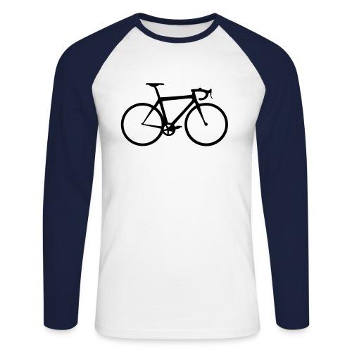 Rennrad Langarmshirt - Männer Baseballshirt langarm