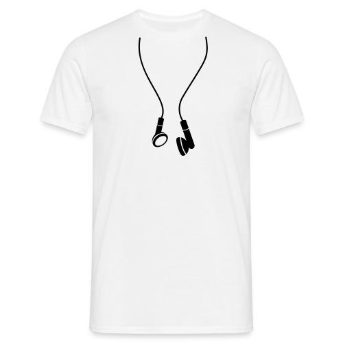 Tee-shirt avec des écouteurs - T-shirt Homme