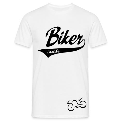 Männer T-Shirt (Biker) - Männer T-Shirt