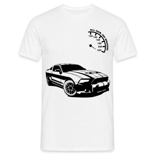 Männer T-Shirt (Car) - Männer T-Shirt
