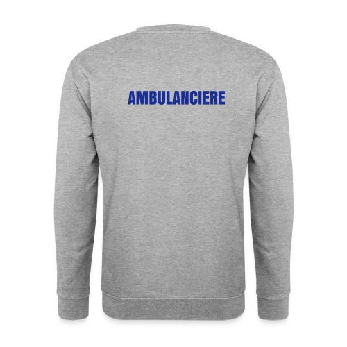 Sweat ambulancière, sans croix - Sweat-shirt Homme