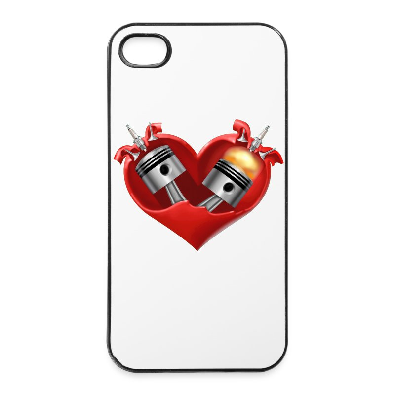 iPhone 4/4S - Heart - iPhone 4/4s Hard Case